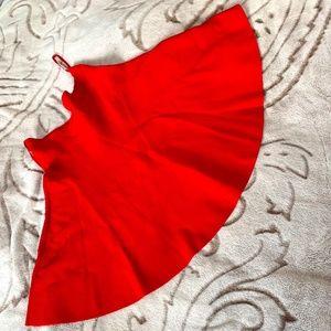 BCBG MaxAzria Red Mini Skirt